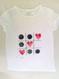 T Shirt Painting, Fabric Painting, Kids Shirts, T Shirts For Women, T Craft, Paint Shirts, Embroidery On Clothes, Fabric Stamping, Painted Clothes