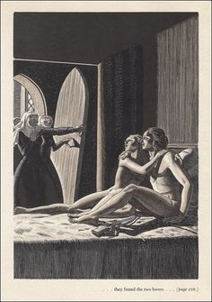 "ratak-monodosico: "" Today's Classic: The Decameron illustrated by Rockwell Kent "" Rockwell Kent, Norman Rockwell, Art And Illustration, Illustrations And Posters, The Decameron, Gravure Photo, Figurative Kunst, Exotic Art, Art Of Love"