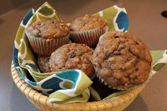 Simply Whole Kitchen: Banana Oatmeal Breakfast Muffins
