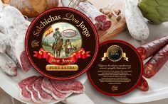 Ознакомьтесь с моим проектом @Behance: «Sausage label Salchichas Don Jorge Fuet Extra» https://www.behance.net/gallery/52077443/Sausage-label-Salchichas-Don-Jorge-Fuet-Extra
