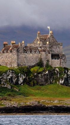 Duart Castle, Isle of Mull, Scotland | Located on the west coast of Scotland, Duart Castle was given in dowry to Mary MacDonald, daughter of the Lord of Isles in 1350.