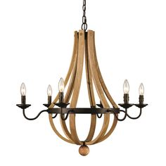 Found it at Wayfair - Dimitri 6 Light Candle-Style Chandelier
