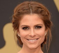2014 Oscars Best Celebrity Hairstyles and Makeup Looks: Maria Menounos  #Oscars #hairstyles #hair