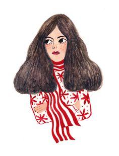 Maria Ines Gul — Good Hair Bad Mood