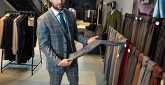 I've put together a simple guide to buying suit, so you have all the tools at your disposal.  Your journey into style and professionalism begins now. Let's get started. Next Suits, Silk Coat, Step Guide, Perfect Fit, Mens Fashion, Easy, How To Wear, Stuff To Buy, Men Fashion