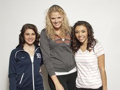Purchase these itmes from MLBshop.com or the D Shop in Comerica Park. (Lainey, Mekeisha & Marissa from the DTE Energy Squad)