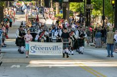 The Great Scot! Parade will be Friday, May 23rd on Main Street in downtown Greenville at 6pm! http://gallabrae.com