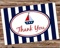 Nautical Theme Boys Baby Shower - INSTANT DOWNLOAD  Printable Nautical by thepaperblossomshop, $5.00