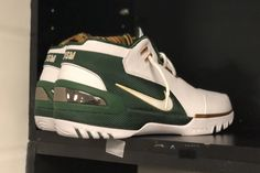 e53923cace3  SVSM  Air Zoom Generation coming soon  Just days after Nike brought back  the black colorway of LeBron s first signature shoe