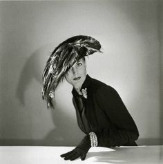 Hat by Jacques Fath - 1950 - Photo by Willy Maywald