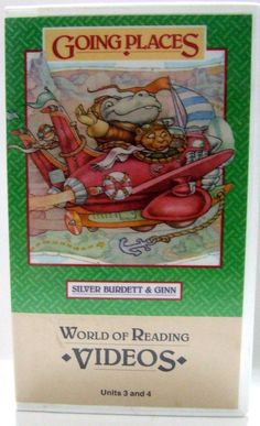 Homeschooling Going Places World of Reading VHS Units 3 n 4 Elementary Education