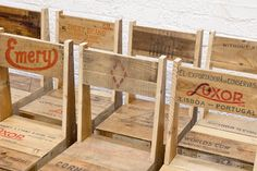 Styling and Salvage: crate furniture collection