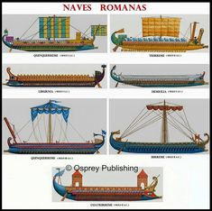 Roman Naval Galleys.