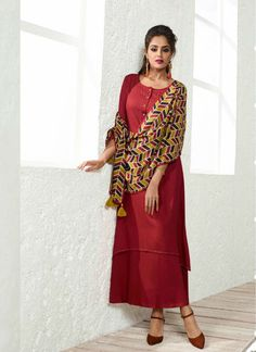 bec645acc22 MIRAAMALL PARTY WEAR COTTON KURTIS Printed Kurti