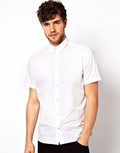 White short sleeved shirt