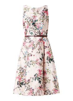 9fb11a914d7d60 Ted Baker Clarbel jurk met bloemendessin en lurex • de Bijenkorf