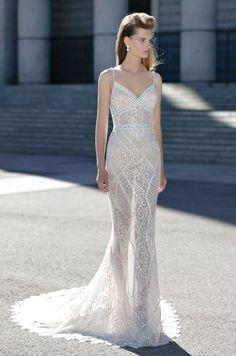 The 364 best beaded wedding dresses images on pinterest short berta spring 2016 bridal collection beaded wedding dress inspiration junglespirit Gallery