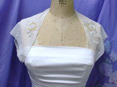 Bridal Shrug Bolero Vintage Look   MADE TO ORDER. $60.00, via Etsy.