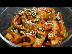 Bebidas Detox, Korean Food, Food Plating, Kung Pao Chicken, Chicken Wings, Love Food, Asian, Meat, Cooking