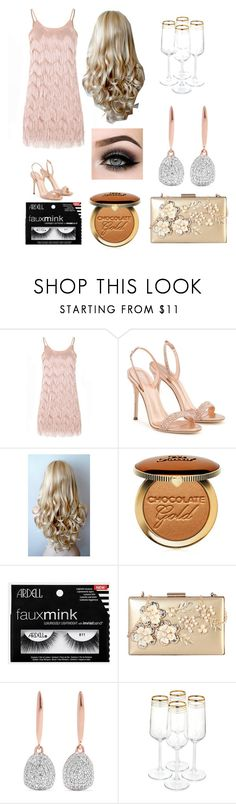 """""""January"""" by phya ❤ liked on Polyvore featuring Glamorous, Giuseppe Zanotti, ASAP, Too Faced Cosmetics, Rimen & Co. and Monica Vinader"""