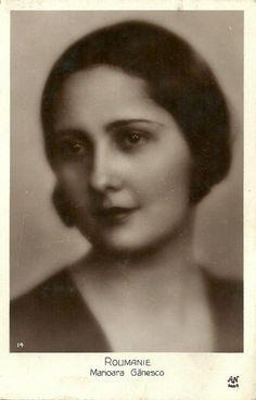 Miss Romania 1928, Marioara Gănesco
