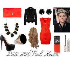"""""""Date with Niall Horan"""" by ellen-liesenborghs on Polyvore"""