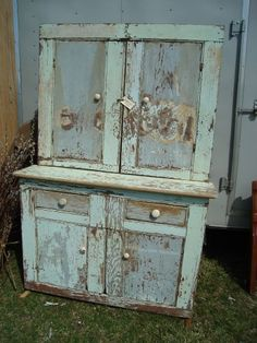 old stepback cupboard