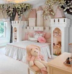 42 Ideas Kids Room Ideas For Girls Toddler Daughters Castle Bed For 2019 Princess Bedrooms, Princess Room, Teen Girl Bedrooms, Little Girl Rooms, Princess Theme Bedroom, Princess Castle Bed, Princess Tower, Super Princess, Pink Castle