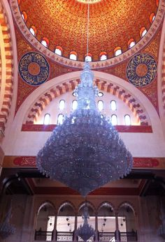 Mohammed Al-Amin Mosque, Nejmeh, Lebanon — by Bettina Arknaes. Mohammad Al-Amin Mosque is a very beautiful mosque in Beirut. It's open to everyone and in the entrance women can...