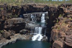 Mitchell Falls - Swam here. Mitchell Falls, Byron Bay, National Parks, Australia, Island, Waterfalls, Places, Outdoor, Outdoors