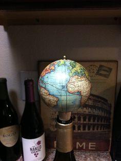 Globe Wine Stopper