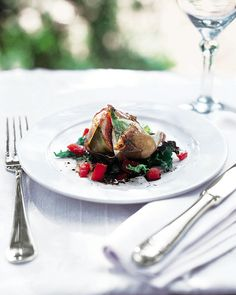 Figs and mozzarella wrapped in Parma ham seems an unlikely barbecue dish but it is a refreshing change from the grilling routine. Dried Figs, Fresh Figs, Fig Recipes, Healthy Recipes, Healthy Meals, Parma Ham, Savoury Dishes, What To Cook, Mozzarella