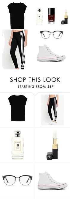 """#2"" by gooch-kellie on Polyvore featuring Isabel Marant, adidas Originals, Jo Malone, Chanel, GlassesUSA and Converse"