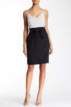 Cinch Waist Skirt by SUSINA on @nordstrom_rack