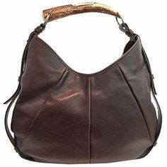 YSL Mombasa Horn Hobo Handbag | Queen Bee of Beverly Hills - YSL Handbags www.queenbeeofbeverlyhill.com $1,250.00