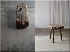 Wabi sabi bútor - Antik bútor, egyedi natúr fa és loft designbútor, kerti fa termékek, akácfa oszlop, akác rönk, deszka, palló Wabi Sabi, Acacia, Rustic Furniture, Table, Design, Home Decor, Rustic Fence, Easel, Balance Beam