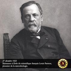 #Éphéméride : 27 décembre 1822, naissance à Dole du scientifique français Louis Pasteur, pionnier de la microbiologie. - institut-iliade.com