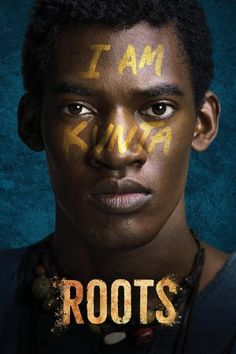 """With Jonathan Rhys Meyers, Laurence Fishburne, Matthew Goode, Malachi Kirby. An adaptation of Alex Haley's """"Roots"""", chronicling the history of an African slave sold to America and his descendants. Alex Haley, Pin It, Jonathan Rhys Meyers, History Channel, Roots Tv Series, Big Bang Theory, Movies To Watch, Good Movies, Livros"""