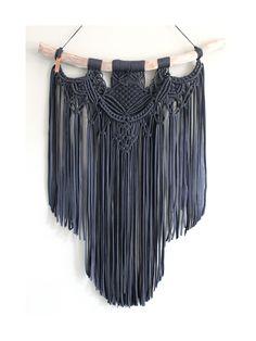 Macrame Art, Macrame Projects, Micro Macrame, I Need A Hobby, String Crafts, Black Tulips, Hippie Chic, Textiles, Boho