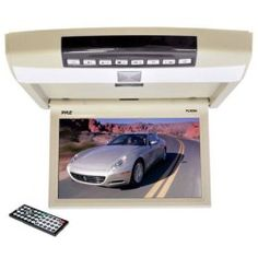 "Hint  PLRD94 9.4"" Flip Roof Mount Monitor & DVD Player with Wireless FM Modulator, IR Transmitter, USB Flash & SD Card Compatible"