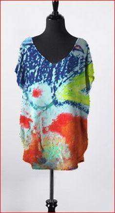 Designer, Tie Dye, Blouse, Life, Tops, Women, Art, Fashion, Art Background