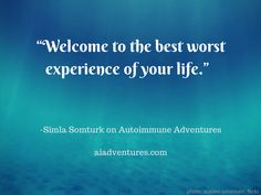 Simla Somturk talked about her experience healing from multiple autoimmune disorders, and shared some tips for eating healthy. Episode 2 of Autoimmune Adventures: aiadventures.com Autoimmune, Eating Healthy, Disorders, Healing, Good Things, Adventure, Tips, Eat Healthy, Healthy Food