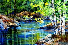 Buy landscape paintings and prints direct from artist Hanne Lore Koehler online gallery. Price list online.