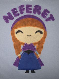 Camiseta aplique Anna