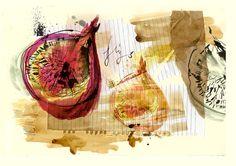 Figs, Kitchen Print