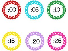 technology rocks. seriously.: free printable polka dot numbers to use with time