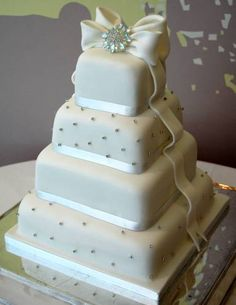 wedding cake ribbon