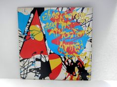 Elvis Costello and The Attractions  Armed Forces LP by RockofSages, $11.00