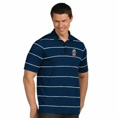 Antigua Auburn Tigers 2014 BCS National Championship Game Bound Brilliant Performance Polo - Navy Blue