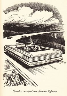 The Future, As Foretold by a Children's Book From 1961 Character Concept, Concept Art, 3d Character, World Of Tomorrow, Found Object Art, Futuristic Art, Illustrations, Sci Fi Art, Dieselpunk